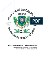 Reglamento Lab. Itesco(Actualizado2018)