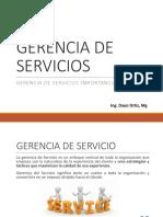u.1. Gerencia de Servicios Importancia