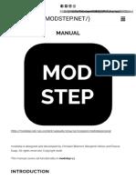 Modstep (Manual)