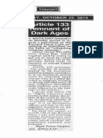 Peoples Tonight, Oct. 22, 2019, Article 133 remnant of Dark Ages.pdf