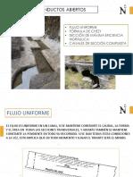 02 Flujo Uniforme - Formula de Chezy - Seccion de Maxima Eficiencia Hidraulica - Canales Seccion Compuesta