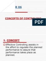 Mgt Chapter 6 Concept of Control.ppt