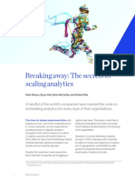Breaking Away the Secrets to Scaling Analytics