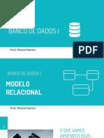 Modelo Lógico - Relacional