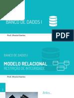 Modelo Relacional - Conversão MER x Relacional