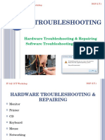 Troubleshooting in PC