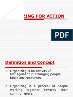 Mgt Chapter 11 ORGANZING FOR ACTION.ppt