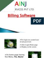 AINJ IT SERVICES PVT LTD(BILLING SOFTWARE)