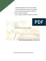 Glosario Derecho Romano