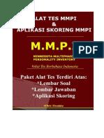 Alat Tes MMPI Dan Aplikasi Skoring MMPI
