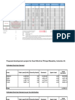 Excel World Concept Design Final Load Calculation