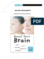 The Five Brain Boosters