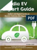 India EV Expert Guide Sample Report Oct 2019
