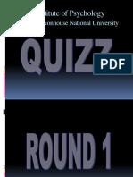 psychology quiz items
