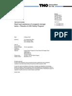 Heat Load Resistance of Cryogenic Storage Tanks