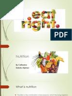 Powerpoint Presentation - Nutrition 2