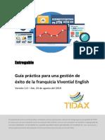 Guía Práctica Para Una Gestión de Éxito de La Franquicia Vivential English