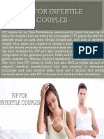 IVF FOR INFERTILE COUPLES