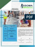 Curriculum Empresarial - A y b Ssoma Servicios s.a.c.