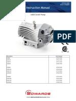 Edwards NXDS ScrollPumpManual