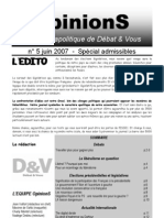 OpinionS Accueil Admissibles Vdef