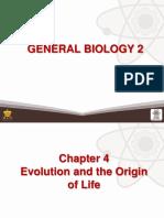 4 Evolution and the Origin of Life