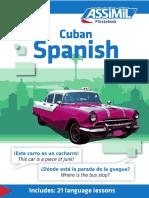 Assimil Phasebook Cuban Spanish
