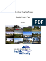 North Island Hospitals Project Capital Plan
