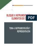 Tema 4 - Representación e Instrumentacion