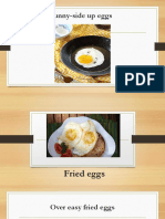 Ppt Types of Cooking Eggs