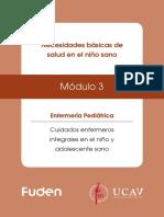 Módulo 3_Necesidades Básicas de Salud en El Niño Sano