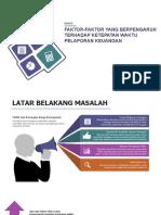 Faktor yang Mempengaruhi Ketepatan Waktu Pelaporan Keuangan.pptx