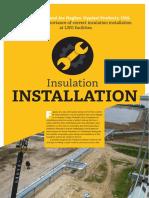 LNG Industry Magazine (Insulation Installation) March 2017