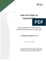 Whitepaper OpenHAClusterOnOpenSolaris External