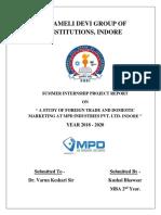 Kushal SIP Report