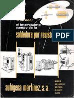 Catálogo Soldadura Por Resistencia AMSA