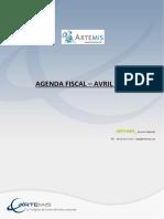 Agenda Fiscal-Artémis 2015