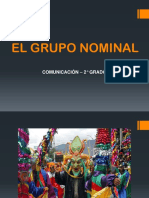 El Grupo Nominal (2)