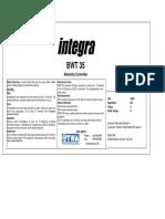Stiker Integra