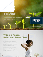 Thrive - A Pause Relax and Reset Class 2019 - LR