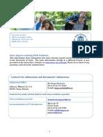 Info Sheet Phd Studies 1