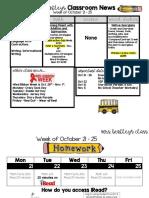bentley newsletter week 11