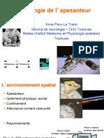 adaptation physiologique en microgravité_notes de cours