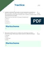 Topic 8 - Practice MS