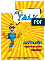 Let's Talk English Pronunciation Practice