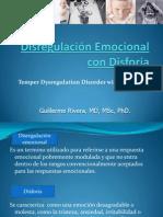 Disregulación Emocional con Disforia