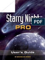Starry Night Pro 5 Manual