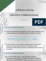 Eletrônica Digital I - Circuitos Combinacionais I