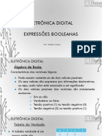 Eletrônica Digital I - Expressões Booleanas