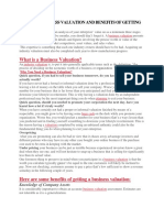 Need for Business Valuation and Benefits of Getting It Done-converted